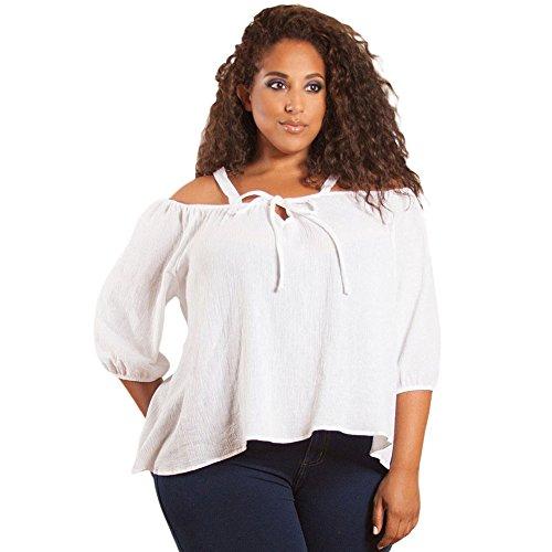 meinice-magliette-a-maniche-corte-donna-white-xxx-large