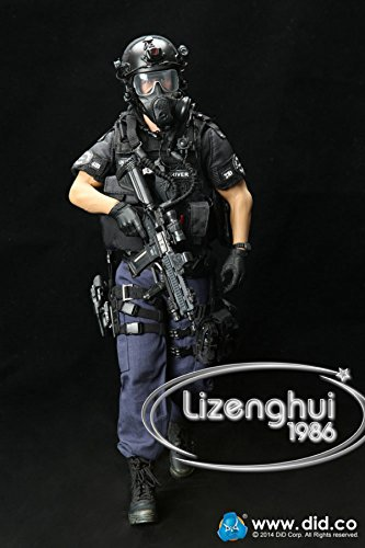 DID DRAGON IN DREAMS 1:6TH SCALE LAPD SWAT3 RADIO HEADSET FROM TAKESHI