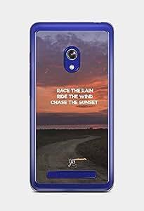 YuBingo Chase The Sunset Designer Mobile Case Back Cover for Asus Zenfone 5