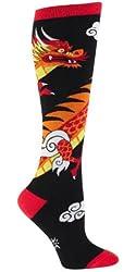 Women Dragon Sock It To Me Knee High Socks