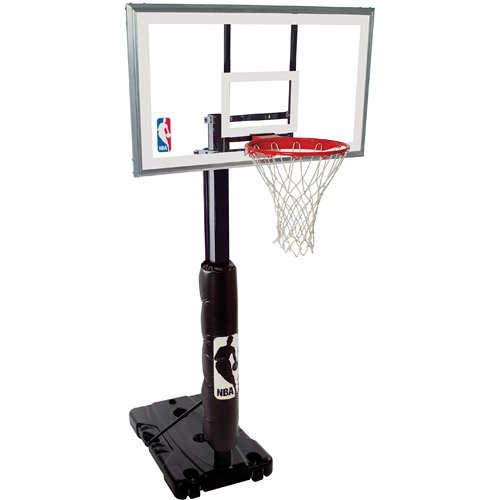 Spalding NBA 68395 Portable Basketball Hoop with 54 Inch ...
