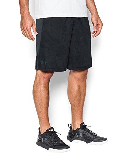 "Under Armour Men's Raid Graphic 10"" Shorts, Black (001), Large"