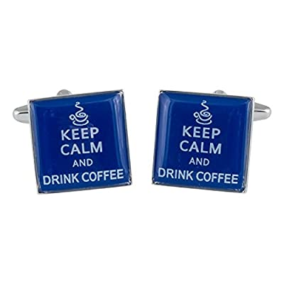 Keep Calm Cufflinks by Cuff-Daddy