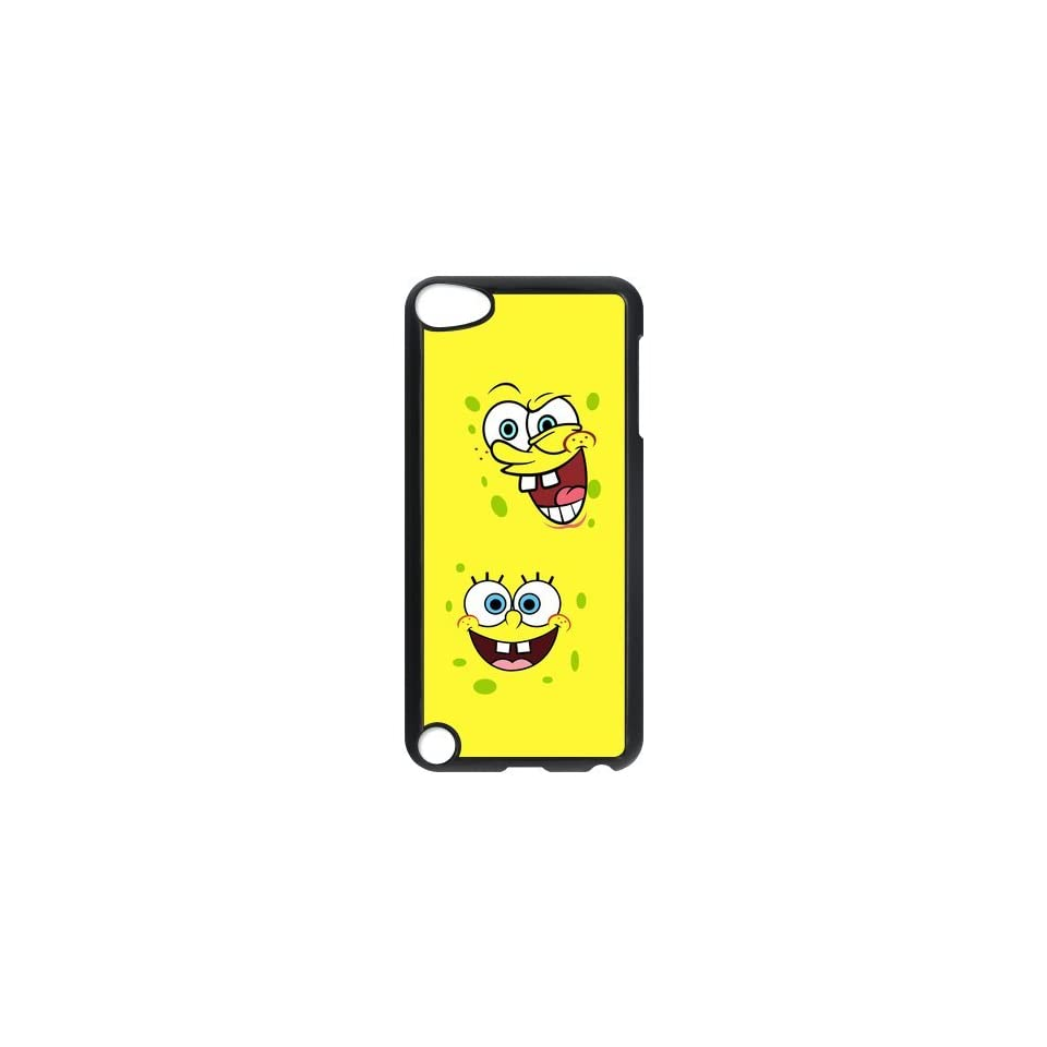 Personalized Music Case SpongeBob SquarePants iPod Touch 5th Case Durable Plastic Hard Case for Ipod Touch 5th Generation IT5SS126