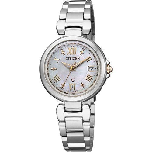 [シチズン]CITIZEN 腕時計 xC クロスシー HAPPY FRIGHTシリーズ 白蝶貝文字板 Eco-Drive電波 エコ・ドライブ電波 EC1035-56W レディース