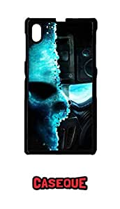 Caseque Ghost Recon Back Shell Case Cover For Sony Xperia Z1