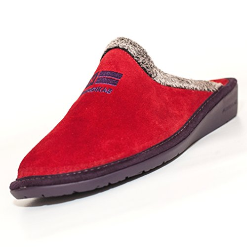 NORDIKAS, Pantofole donna rosso rosso 37 rosso Size: 42