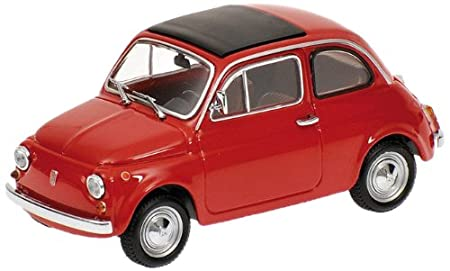 Minichamps 1/43 Fiat 500 1965 (Red) (japan import)