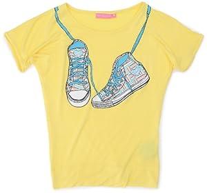 Sun Valley Junior - Camiseta, tamaño 4A, color amarillo