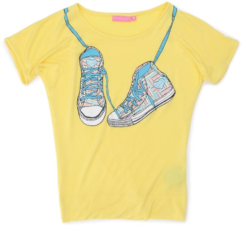 Sun Valley Junior - T-shirt a maniche corte da ragazza, Giallo (giallo), 6A