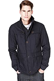 Big & Tall Autograph Pure Cotton Flap Front Parka with Stormwear™