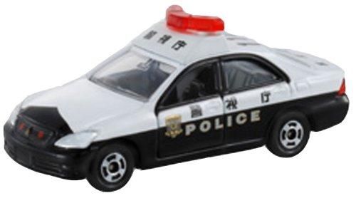 Takara Tomy Tomica #110 Toyota Crown Police Car - 1