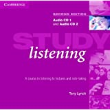 Study Listening Audio CD Set (2 CDs): A Course in Listening to Lectures and Note Taking