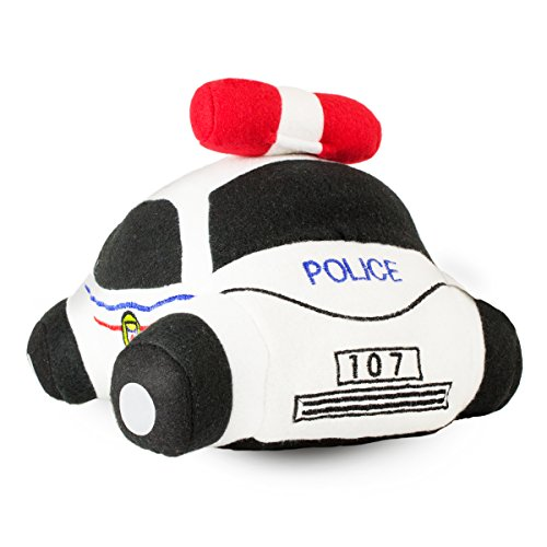 Beverly Hills Teddy Bear Co. Stuffed Police Car w/ Sounds - 1