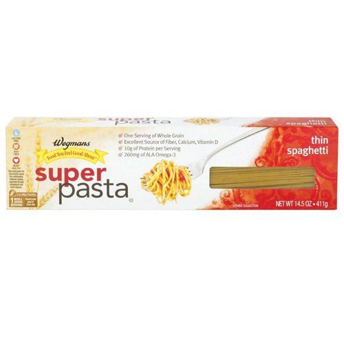 Wgmns Food You Feel Good About Super Pasta, Thin Spaghetti, 14.5 Oz. (Pack Of 4)