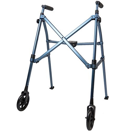 able-life-space-saver-lightweight-folding-travel-walker-with-6-inch-wheels-bariatric-frame-supports-