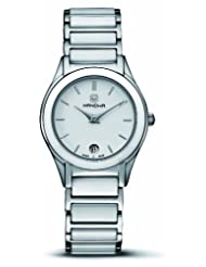 Hanowa Women's 16-7017.04.001 Sunstar White Ceramic and Stainless Steel Watch