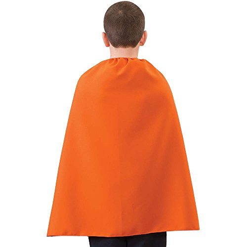 Kids Orange Superhero Cape