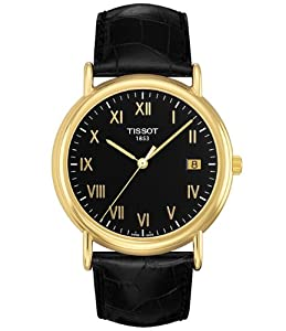Tissot Carson 18k Yellow Gold Mens Watch T907.410.16.053.00