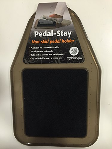 Pedal-Stay Non-skid pedal holder Pads