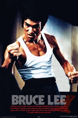 Bruce Lee Fist Master 24X36 Poster Martial Arts 24807 Collections Poster Print, 24x36
