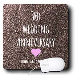 3 Year Wedding Anniversary Leather Gift Ideas : Occasions3rd Wedding Anniversary giftLeather celebrating 3 years ...