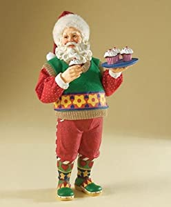 Possible Dreams Santa Cupcake Claus