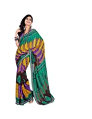 Triveni Fantastic Casual Saree With Unstitch Blouse - 7034