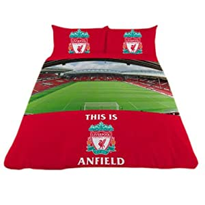 Liverpool Fc Double Duvet Set - Stadium from Vision Time