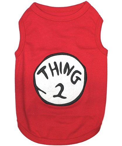 THING-2--HIGH-QUALITY-RED-Embroidered-Pet-Dog-Shirt--All-Sizes