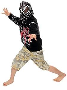 Cool Kids Spider-Man Front Zip Hoodies by AMC