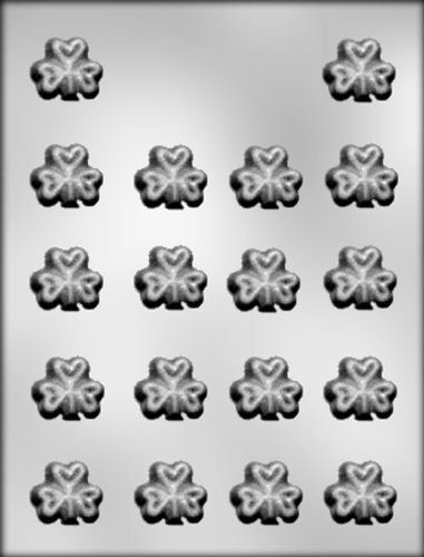 CK Products 1-Inch Shamrock Chocolate Mold