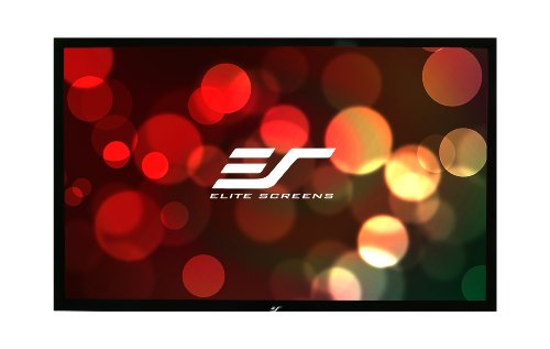 "Elite Screens R106H1 Ezframe Fixed Projection Screen (106"" Diag. 16:9 51.9""Hx92.2""W)"