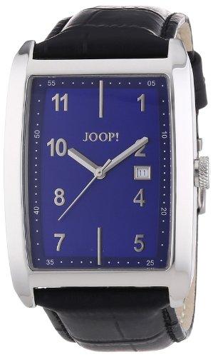 Joop!  0 - Reloj de cuarzo para hombre, con correa de cuero, color marrón