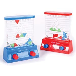 Water Game - Triangles (Colors may vary - Red/Blue)