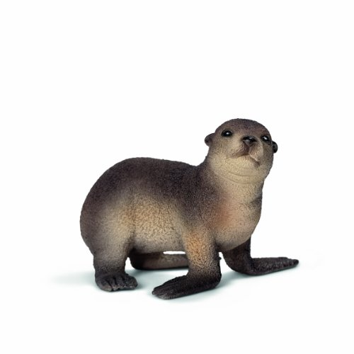 Schleich Sea Lion Cub Toy Figure - 1