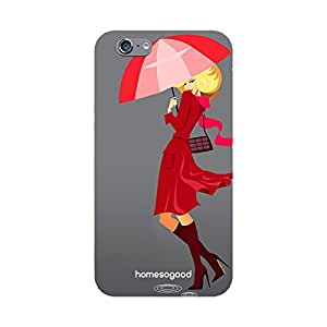HomeSoGood Fashion In Monsoon Grey 3D Mobile Case For iPhone 6 (Back Cover)