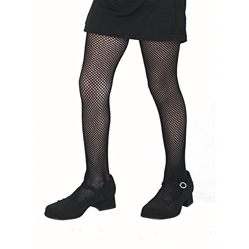 Kid's Black Fishnet Tights (Size:Medium 8-10)