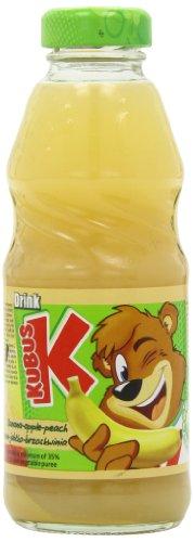 Kubus Banana, Apple and Peach Juice 300 ml (Pack of 20)