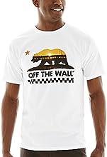 Vans Mens Bearlyfornia Ii Graphic T-Shirt