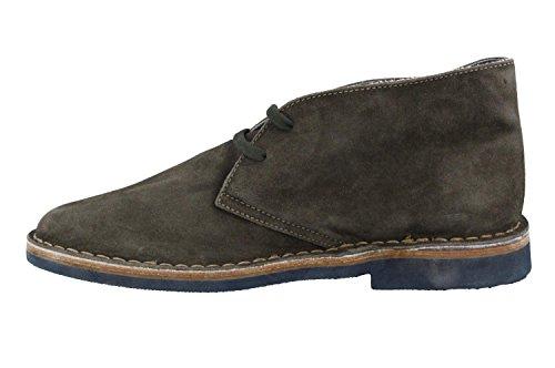 Frau scarpe tipo clarks in camoscio washed salvia e suola di gomma (EU 41)