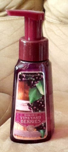Bath & Body Works Gentle Foaming Hand Soap Sonoma Vineyard Berries