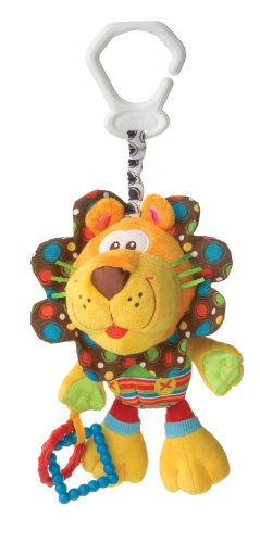 Baby Early Development Toys Multifunctional Plush Lion Bed Hang Ring Bell front-505978