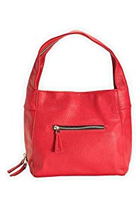 Shiraleah Vegan Leather Blake Hobo (Red)