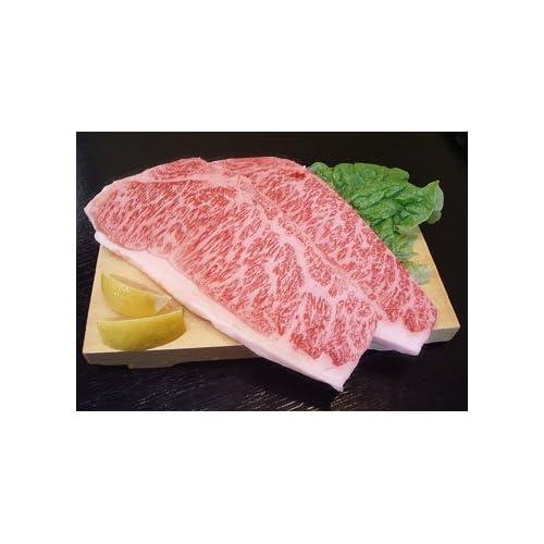 驚きのボリュームと味わいの極上A4黒毛和牛サーロインステーキ1枚200g