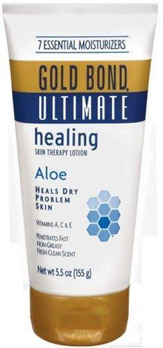 Gold Bond Ultimate Skin Therapy Lotion, Healing, Aloe, 5.5 oz , (Pack of 3)