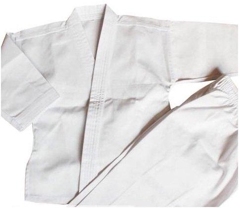 (Radar de barco) Botetrade karate ropa chollo conjunto blanco cinturón de tres puntos con robusto y fácil de secar [190 cm], [nº 7]