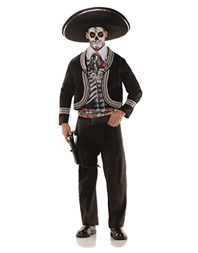 Underwraps Day Of The Dead Male Costume