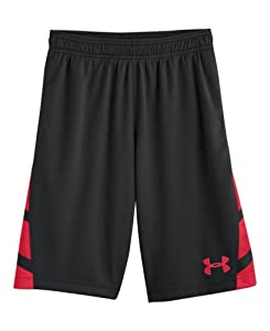 Under Armour Boys' UA Big Timin Shorts Youth Medium Black