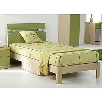 Cama + cajones. Modelo Lineal Verde 190 x 90